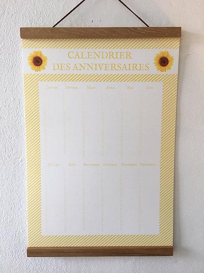 Calendrier Tournesols