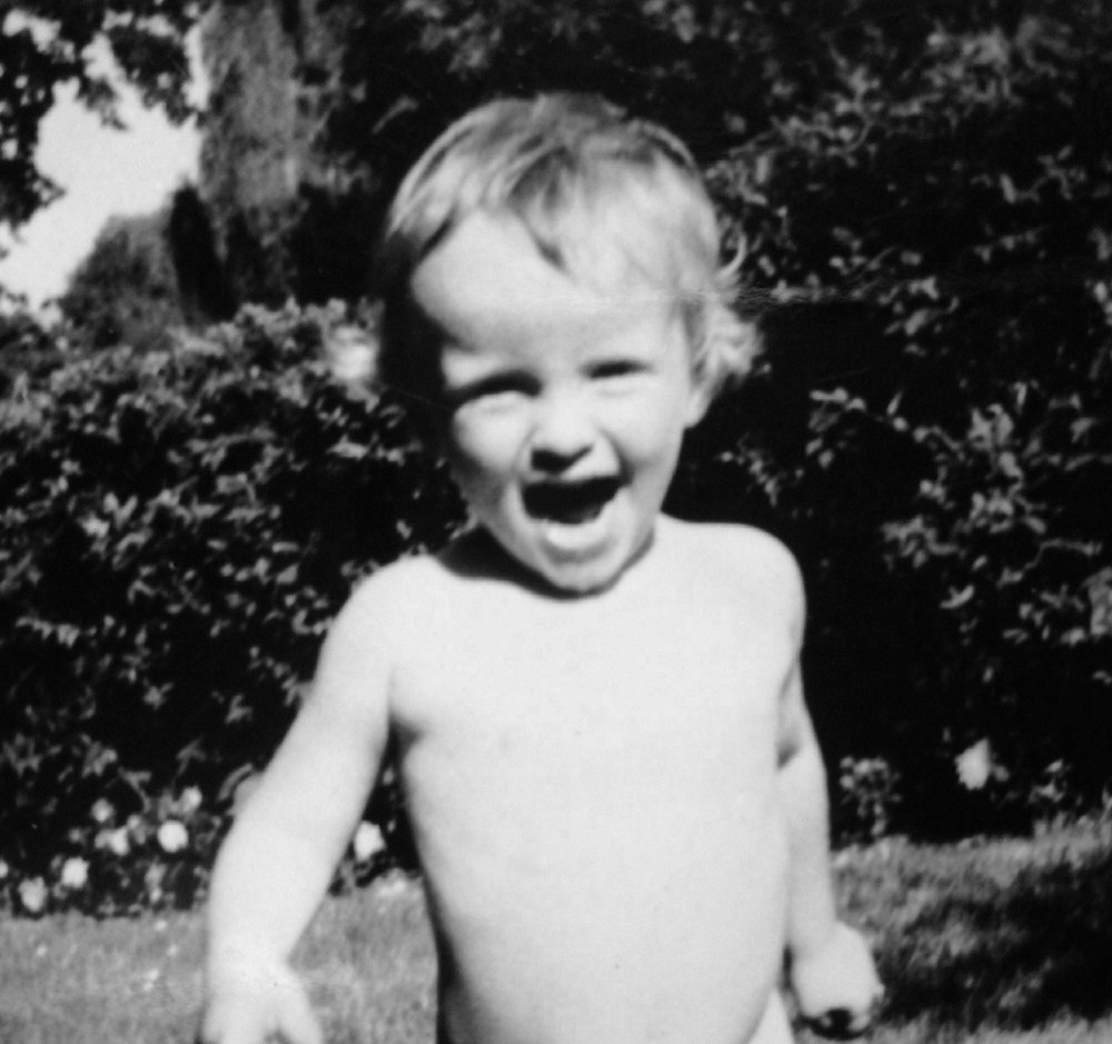 That's me at age 2