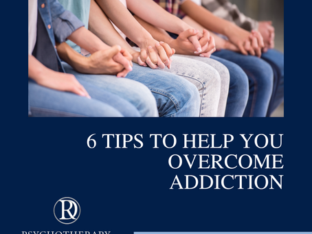 6 Tips to Help You Overcome Addiction
