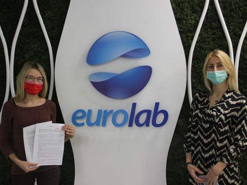 Медичний центр EUROLAB  приєднався до благодійного проєкту