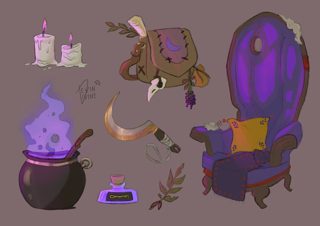 Witchy Assets (2021)