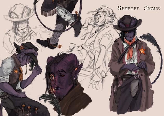 Sheriff Shaus (2021)
