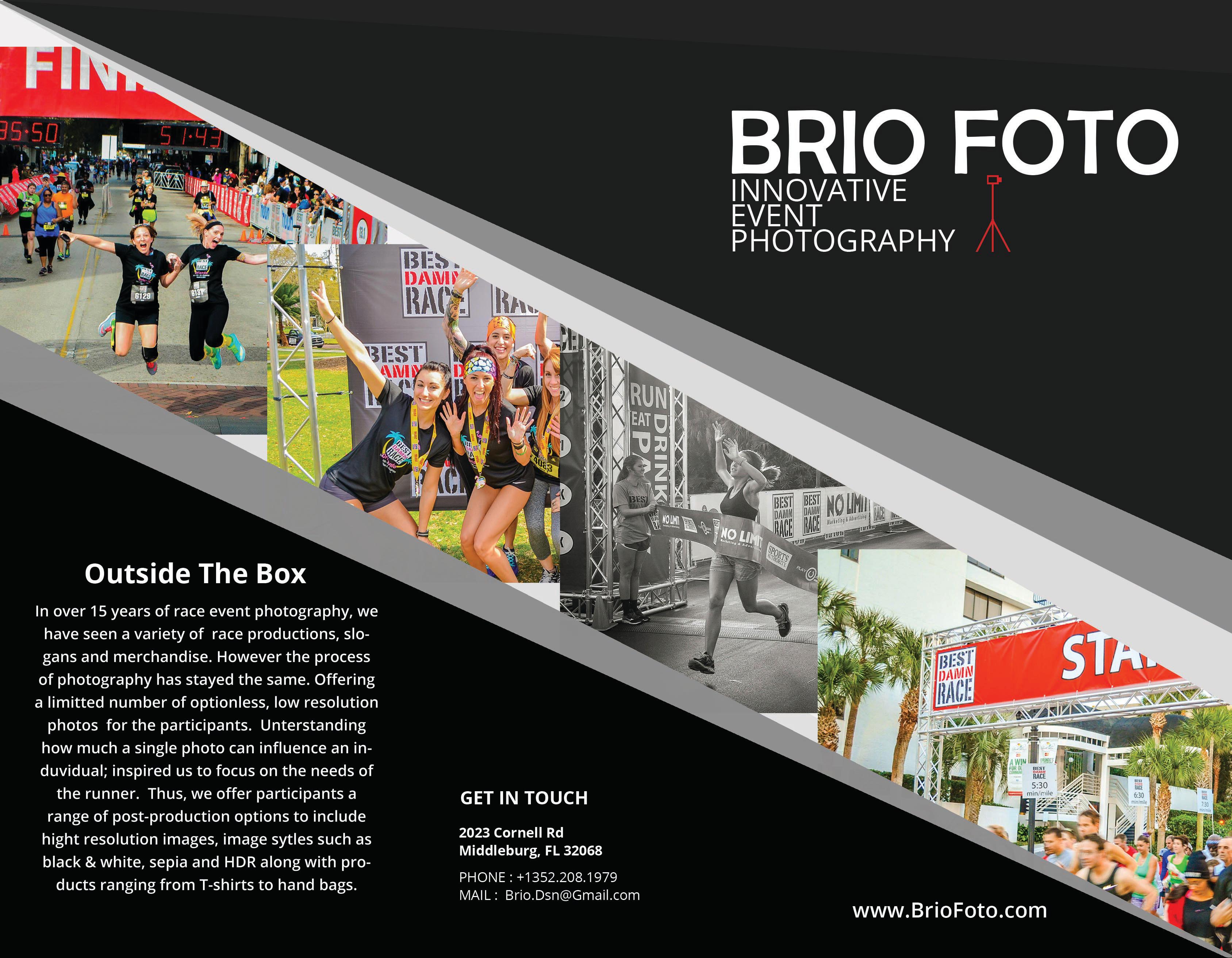 Brochure Brio Front