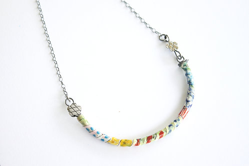 Rainbow Dream front lock necklace