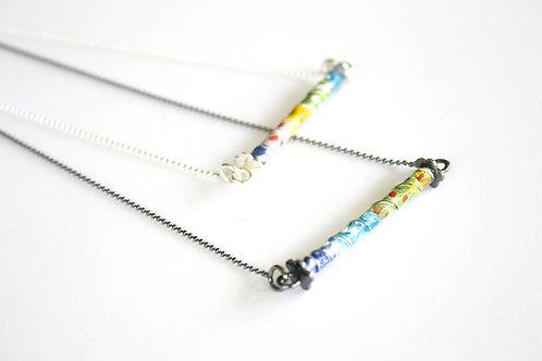 Color-Bar Necklace