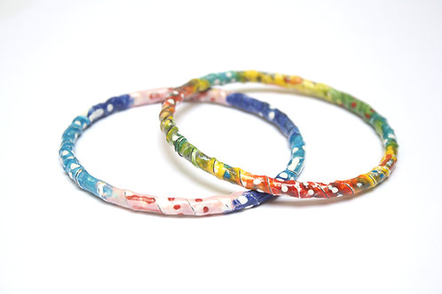 Color-Play Enamel Bangles