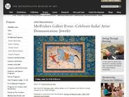 ARTIST DEMOSTRATION - Metropolitan Museum of Art
