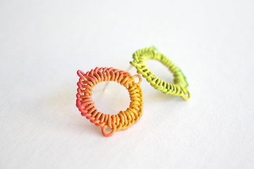 Cast Knit Studs