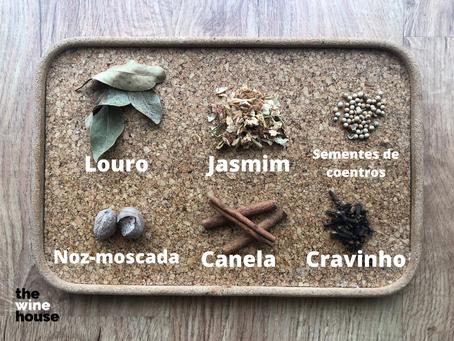 Aprende a fazer um kit caseiro de aromas do vinho