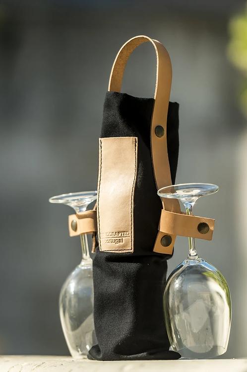 Saco para transporte de vinho