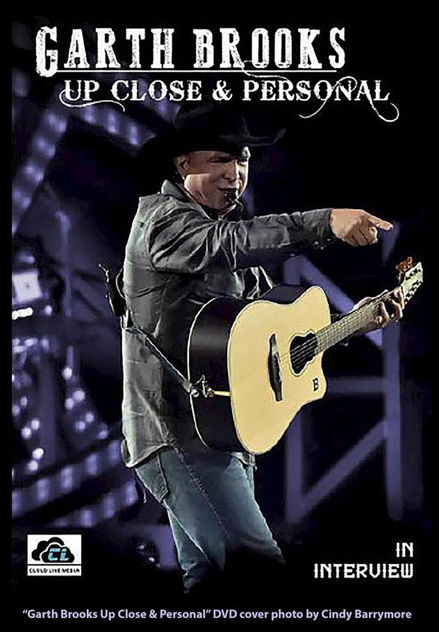 Garth Brooks DVD cover photo