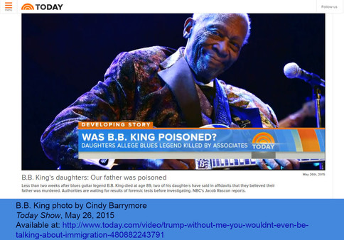 B.B. King on Today Show
