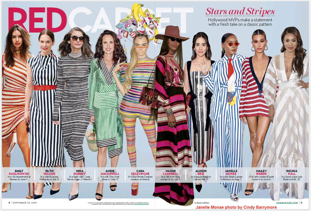 Janelle in Us Magazine