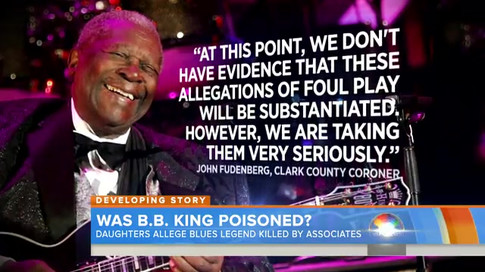 B.B. King on the Today Show