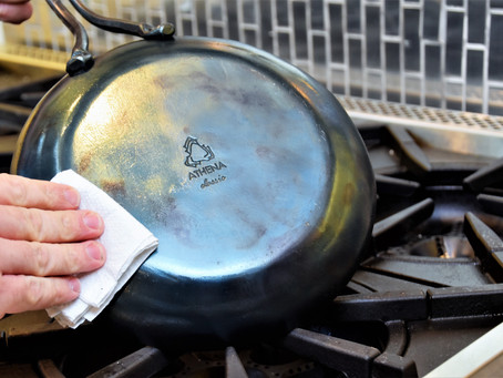 Seasoning Your Carbon Steel Pan