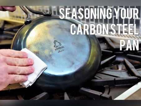 Seasoning Your Carbon Steel Pan (Video)
