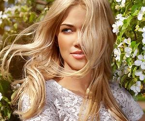 Beautiful Blonde Model