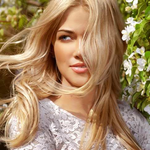 Beautiful Blonde waves