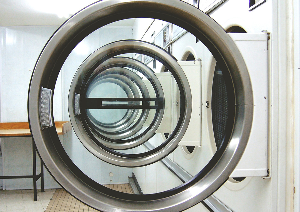 Dryers and washers at Main St Laundromat