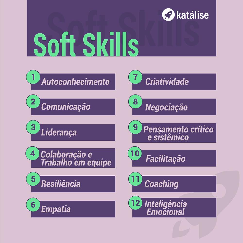 lista das principais soft skills para agilistas
