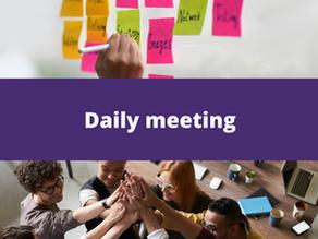 Daily meeting: a coordenação tática e as 2 perguntas infalíveis