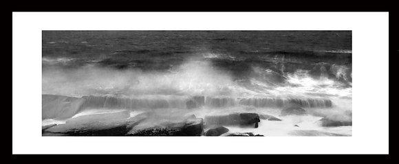 'Storm' black and white print