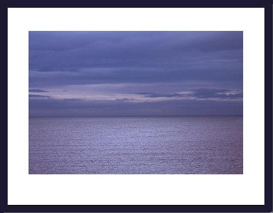 Seascape 2012 framed print
