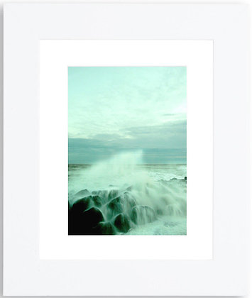 Ness Point framed print