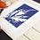 Thumbnail: Blue Leaf Print