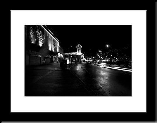 Scarborough Night  framed print