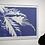 Thumbnail: Blue Leaf framed print