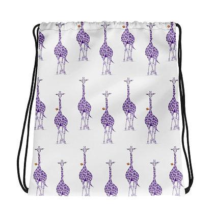 Geri Giraffe Drawstring bag