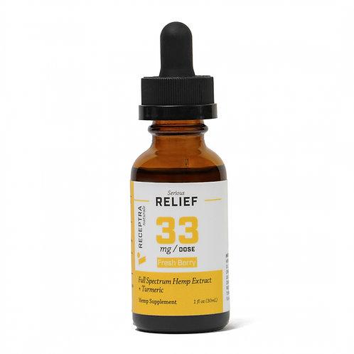 Receptra Serious Relief + Turmeric 33mg/Dose