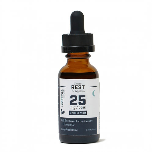 Receptra Serious Rest + Chamomile 25mg/dose