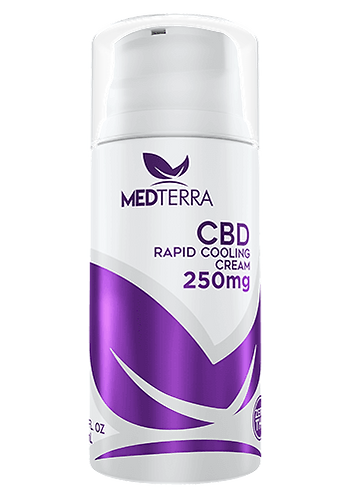 Medterra Cooling Pain Cream 250mg 1.7oz