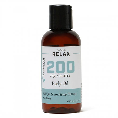 Receptra Seriously Relax + Lavender Body Oil
