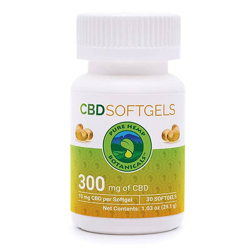 Pure Hemp Botanicals Softgels 30ct