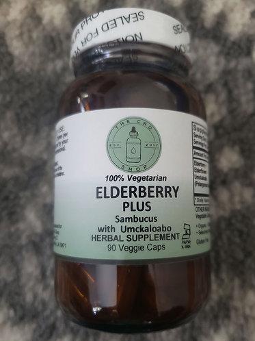 Elderberry Plus 90ct Capsules