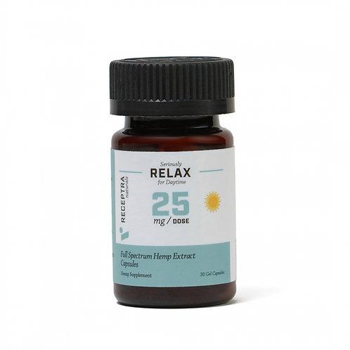 Receptra Seriously Relax Gel Capsules 25mg / 30 Gel Caps