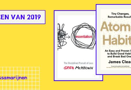 Top 3 boeken van 2019