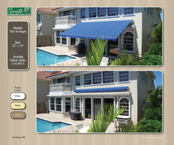 The Sunlight Retractable Awning