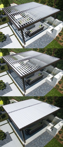 ANNOUNCING: We now offer the Equinox Louvered Roof