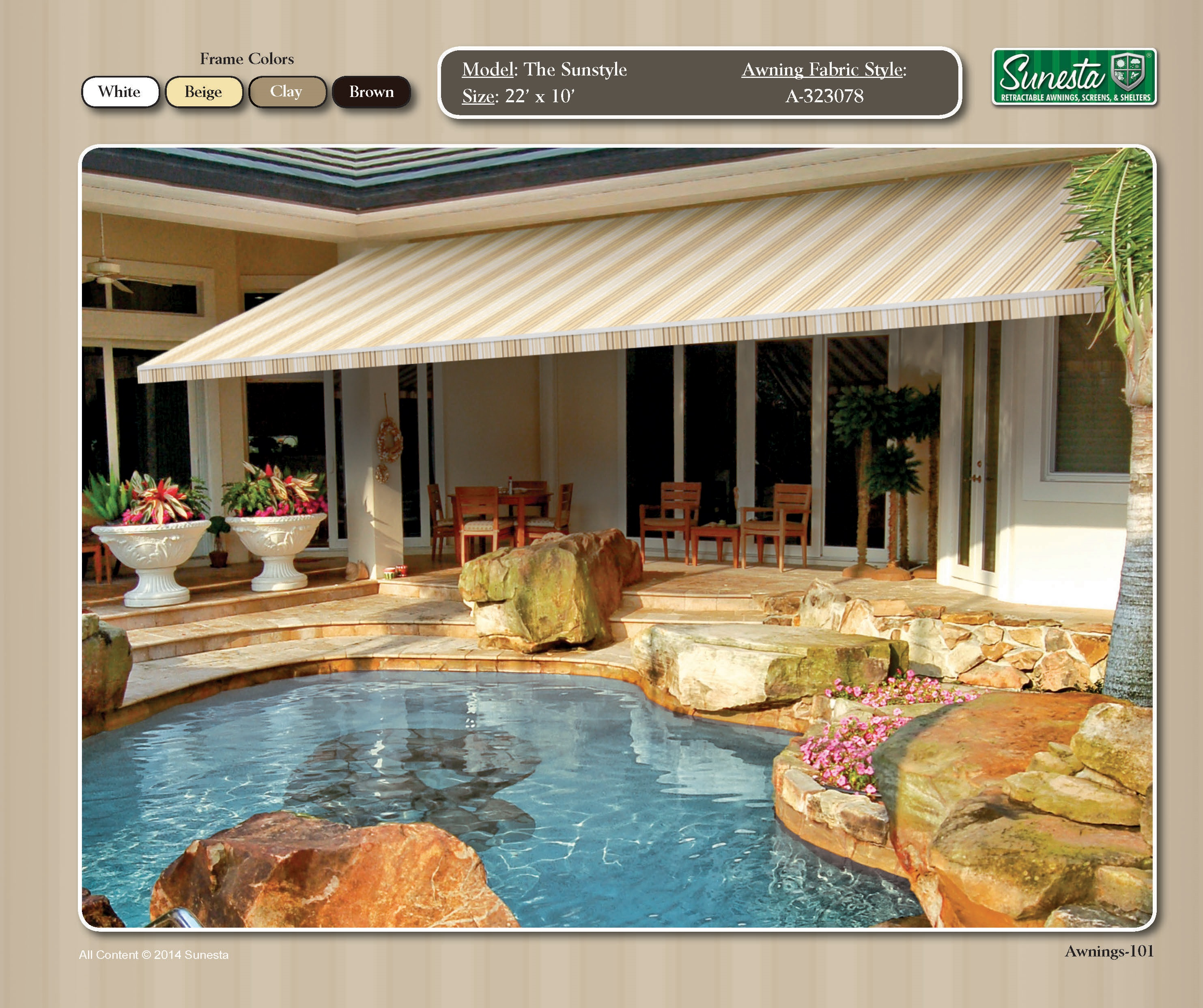 The Sunstyle Retractable Awning