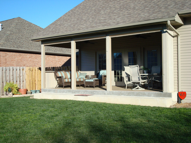 Drop Screens: Extend the use of your patio.