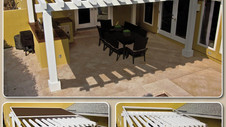 Extend the use of your pergola with a retractable cover!