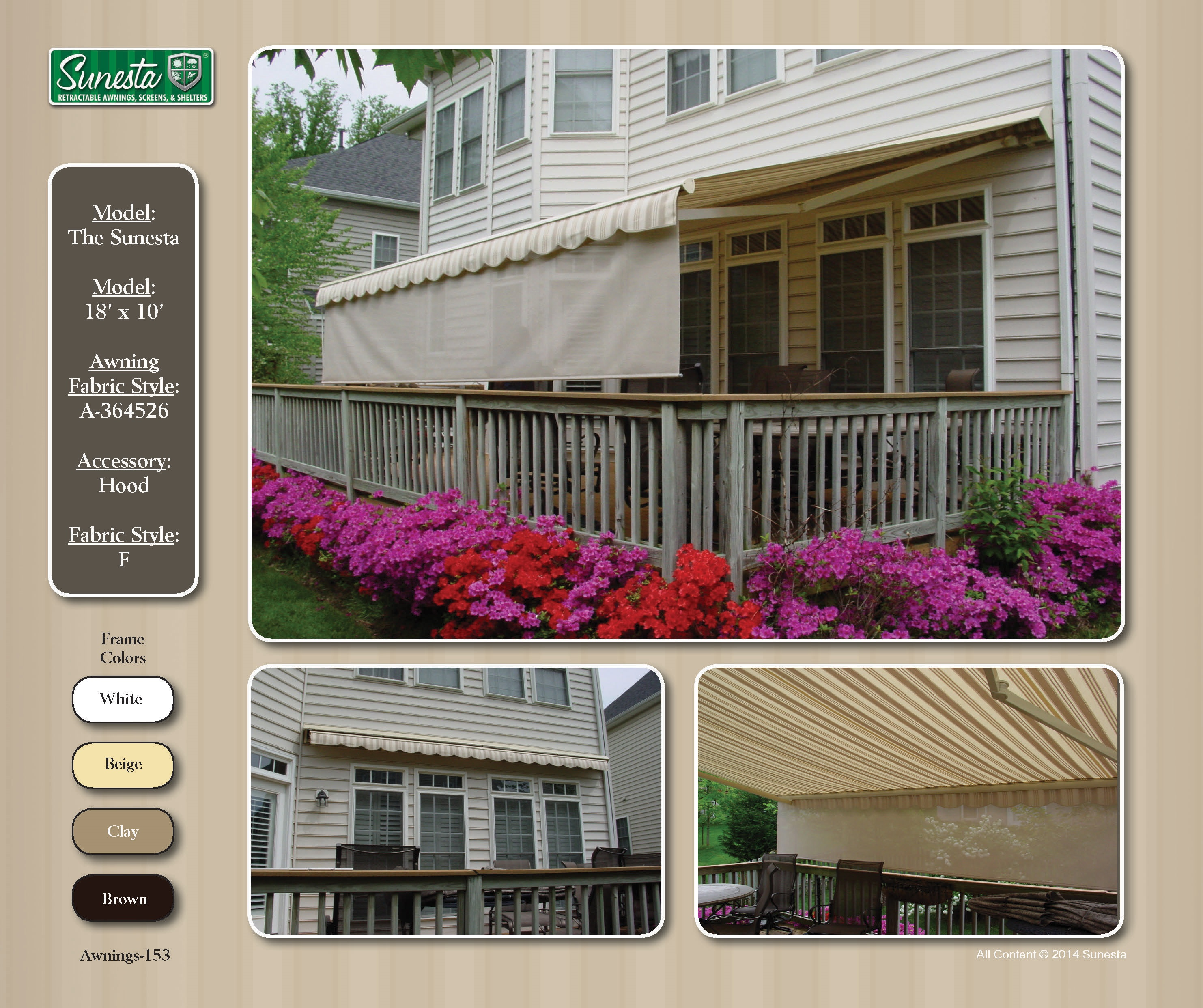 The Sunesta Retractable Awning