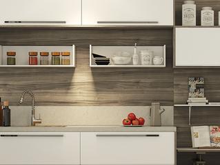Decore a cozinha com utensílios domésticos