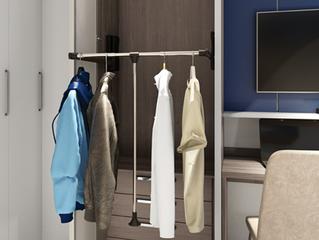 Organize o guarda-roupa na troca da estação