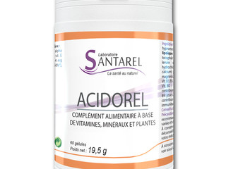 ACIDOREL, un anti fatigue et un anti stress