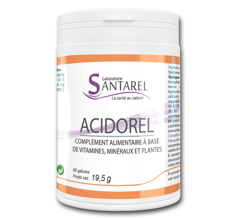 acidorel fatigue et stress